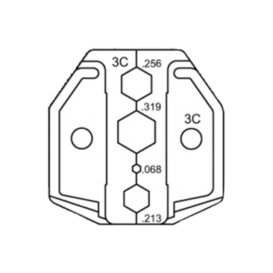 DIE FOR ACP-01A/01B/01C SERIES