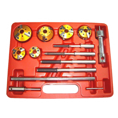 15 PCS VALVE REFACING AND SEATING TOOLS